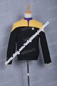 Star Trek Voyager starfleet Cosplay Costume Shirt Jacket