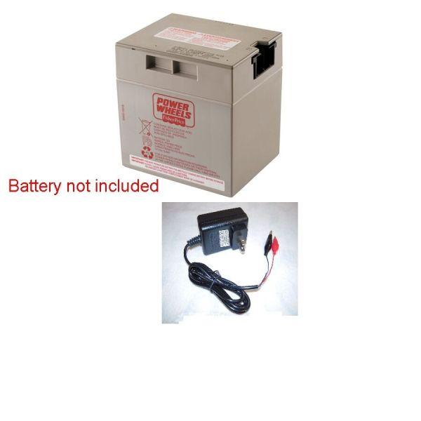 12v Clip Charger Power Wheels Grey Battery 12 Volt