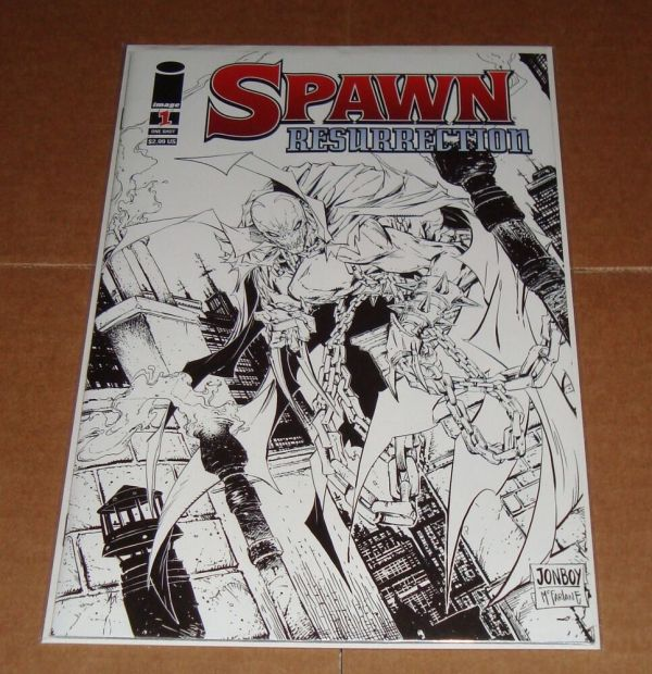 Spawn Resurrection #1 Sketch Variant Edition Store 1st Print Mcfarlane