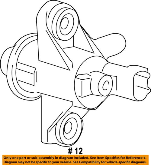 small resolution of details about ford oem vapor canister purge valve au5z9c915b