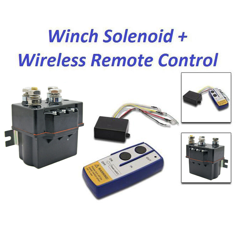 Warn Remote Winch Control Wiring Diagram Free Picture Contactor Heavy Duty Solenoid Relay Wireless Remote