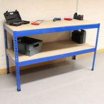 Heavy Duty Steel Work Bench Garage