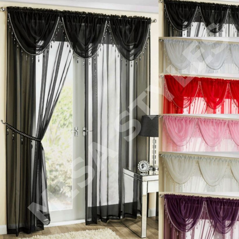 How To Hang Voile Curtains And Swags Www Redglobalmx Org