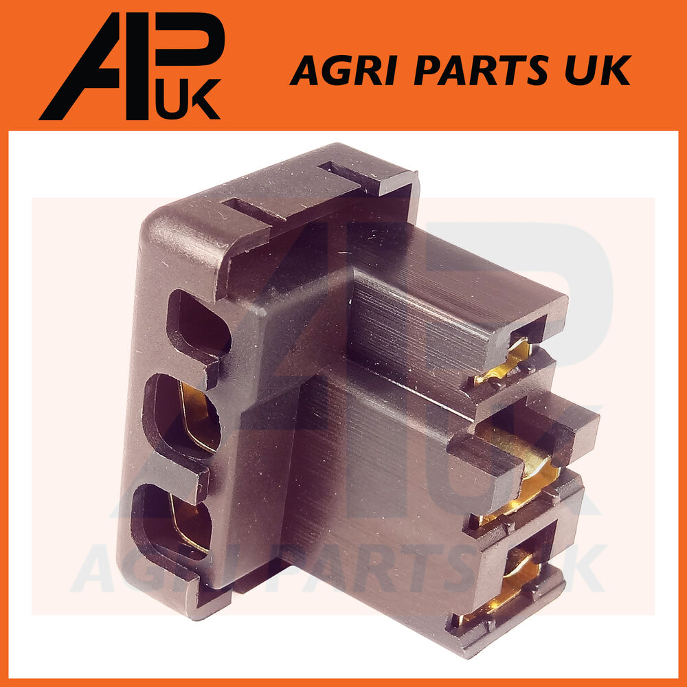 hight resolution of details about alternator wiring plug socket connector tractor massey ford case fiat david brow