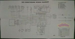 JAGUAR XJ6 AIR CONDITIONING ELECTRICAL WIRING DIAGRAM SHOP