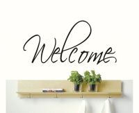Welcome Word Vinyl Wall Decal Sticker for Teachers ...