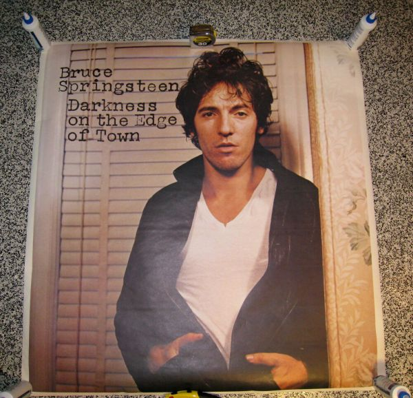 Bruce Springsteen Darkness Edge Of Town Giant Promo