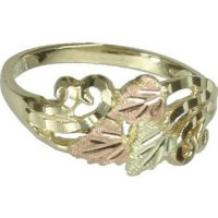 Black Hills Gold womens ring whole & half size 3 4 5 6 7 8 ...