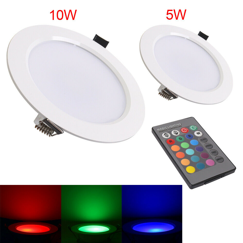 5W/10W LED Recessed Ceiling Light Spot Lamp Panel