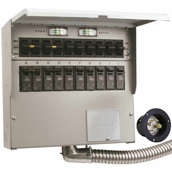 Manual Transfer Switch Generator Connection Industrial Commercial