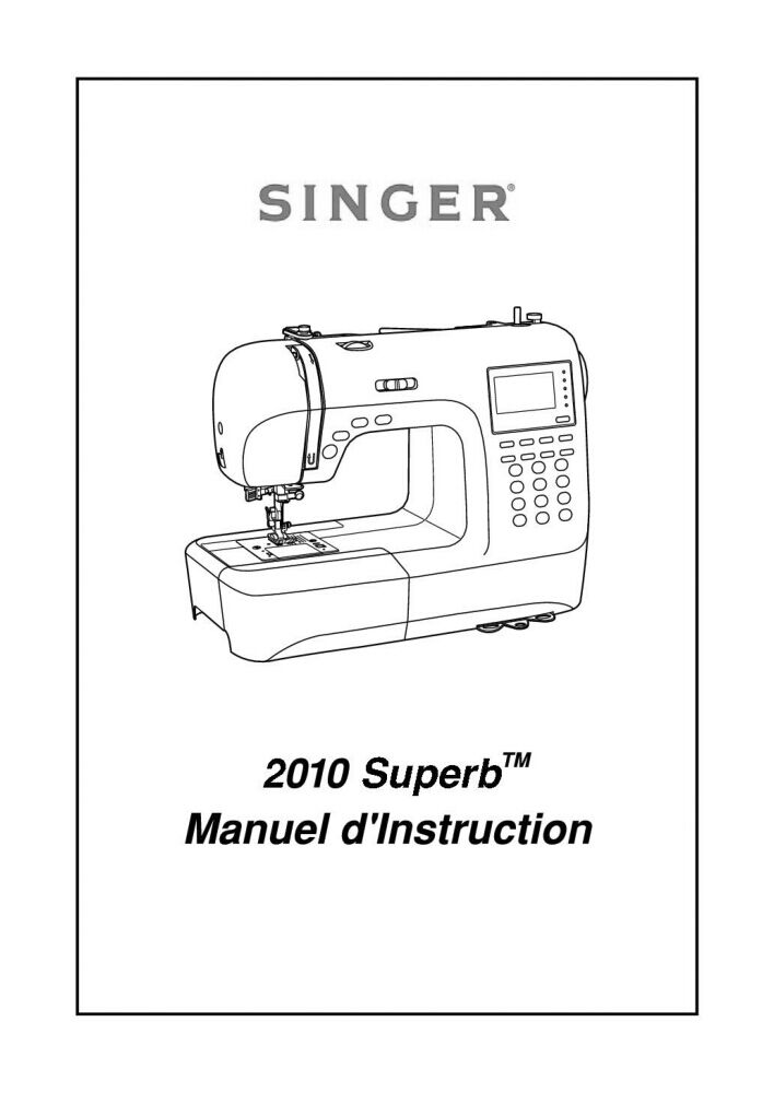 Singer 2010-SUPERB Sewing Machine/Embroidery/Serger Owners