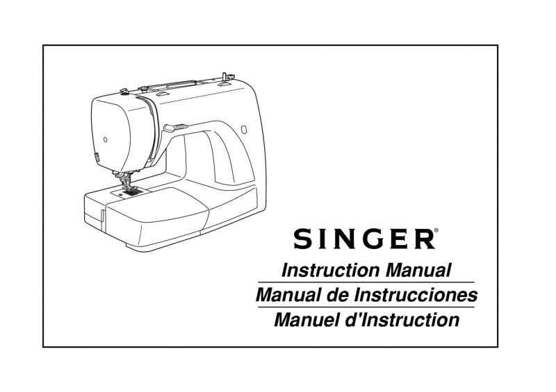 Singer 3116 Sewing Machine/Embroidery/Serger Owners Manual