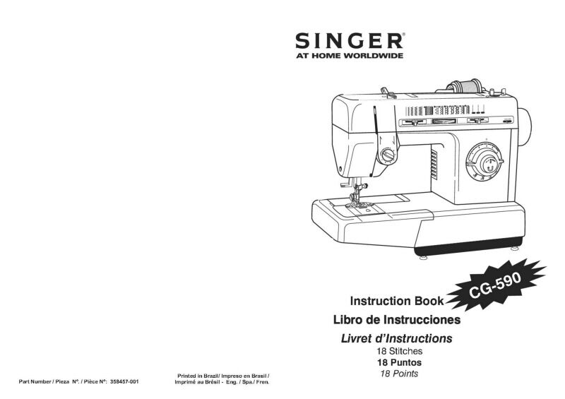 Singer CG-590 Sewing Machine/Embroidery/Serger Owners