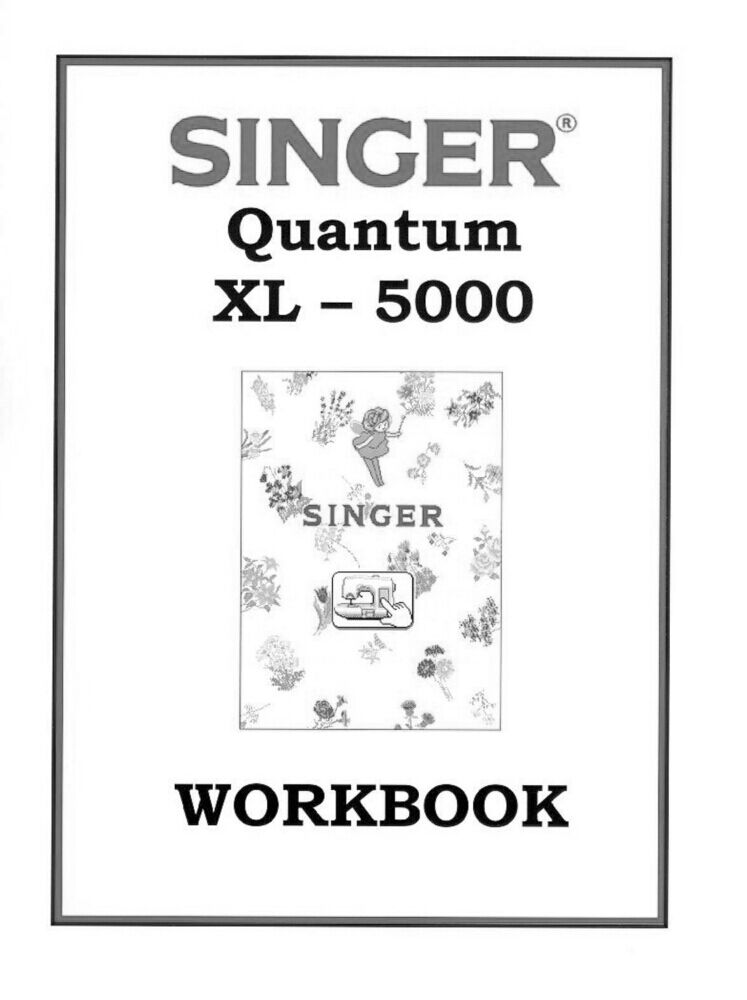 Singer XL-5000-QUANTUM-WKBK Sewing Machine/Embroidery