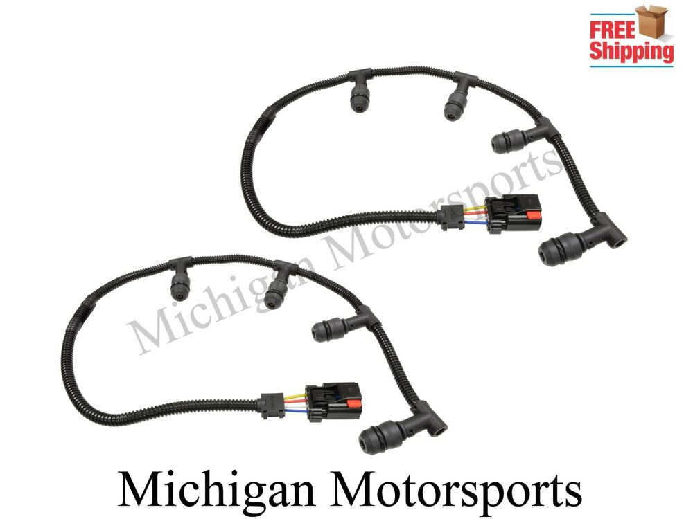 6.0 Diesel Glow Plug Harness 2004-2010 Ford Right & Left