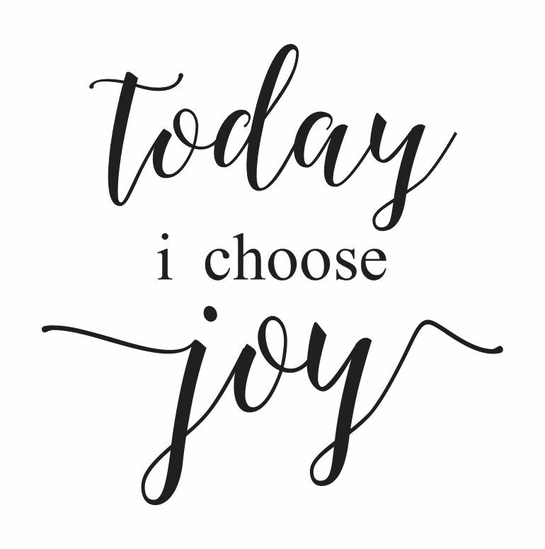 STENCIL*today I choose joy*12x12 for Painting Signs Wood