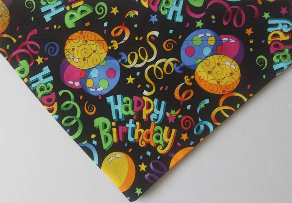 Happy Birthday Dog Bandana Dog Bandana Birthday Dog