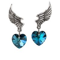 GENUINE Alchemy Gothic Earrings - El Corazon | Ladies ...