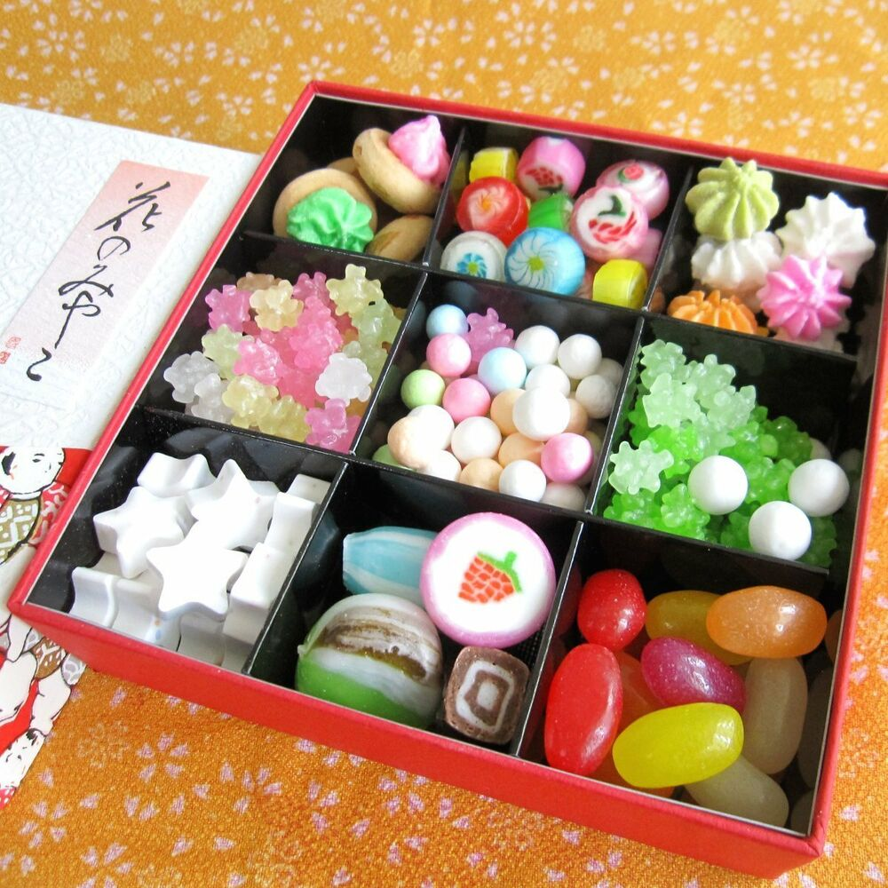 Beautiful Popular Japanese Assorted Kyoto Candy Gift Jewel