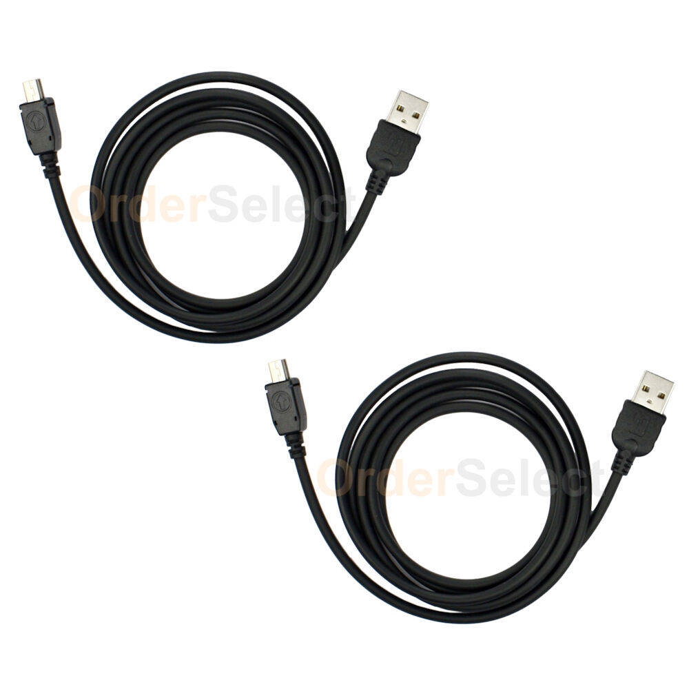 2 NEW USB Charger Cord Cable For Sony Digital Camera