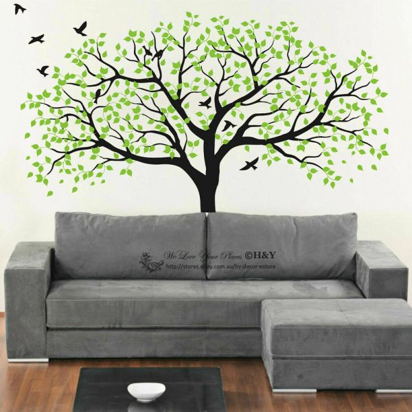 Removable Tree Wall Decals Stickers