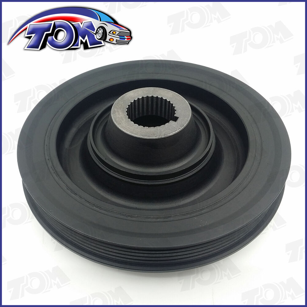 hight resolution of details about harmonic balancer crankshaft belt drive pulley for 90 96 honda accord prelude