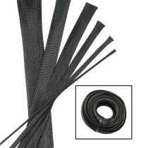 BLACK Wire and Hose Sleeve Sleeving Kit Braided Cover Loom