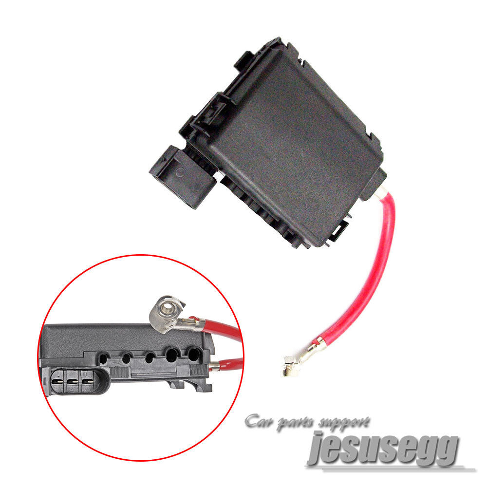 hight resolution of details about 1pcs battery fuse box terminal for vw golf beetle golf jetta mk4 1j0937617d