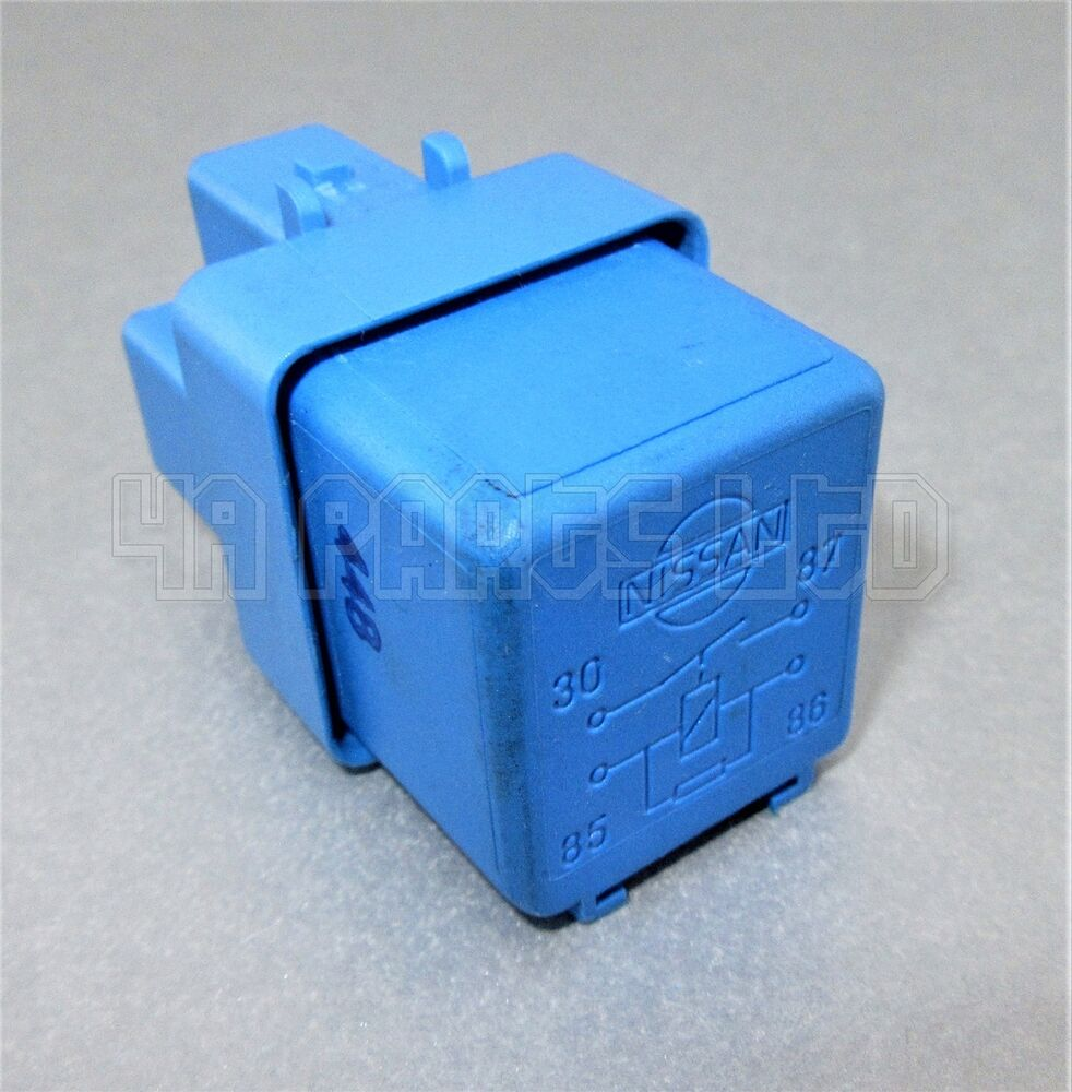 hight resolution of nissan micra primera terrano x trail 4pin blue relay 25230