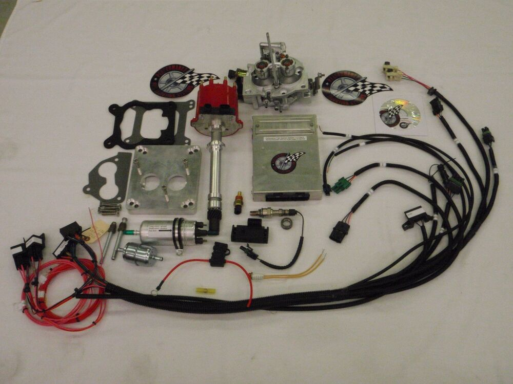holley dominator efi wiring diagram field dressing a deer toyskids co complete tbi fuel injection conversion for stock sbc output connector harness schematic