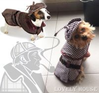 Pet Costumes Dog Cat Sherlock Hound Outfit Clothes ...