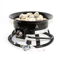 Fire Pit 58,000 BTU Portable Propane Outdoor Camping ...