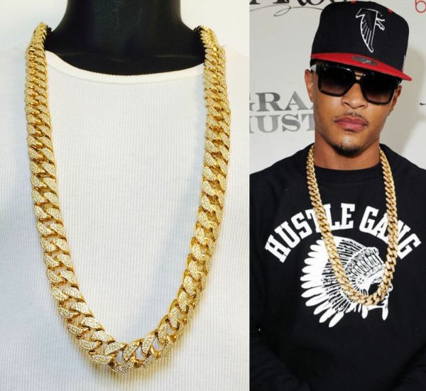 Mens Heavy Miami Curb Cuban Link Chain 38''inches 30''inches Necklace