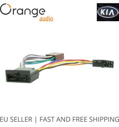 details about wiring harness adapter for kia iso connector stereo plug adaptor type 1 [ 1000 x 1000 Pixel ]