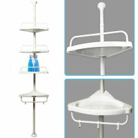 Telescopic Shower Shelf Caddy Bathroom Corner Storage Unit ...