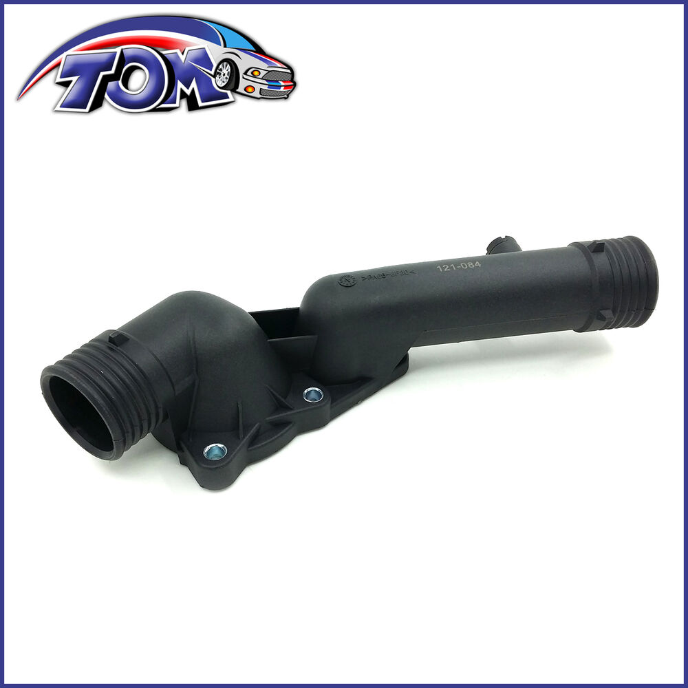 medium resolution of details about brand new thermostat housing for bmw e39 528i 11531740478