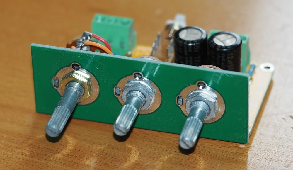 Passive Stereo Tone Control W Loudness Button Assembled