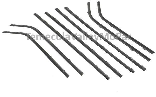 Beltline Window Sweeper Set for 1963-1966 Dodge Dart