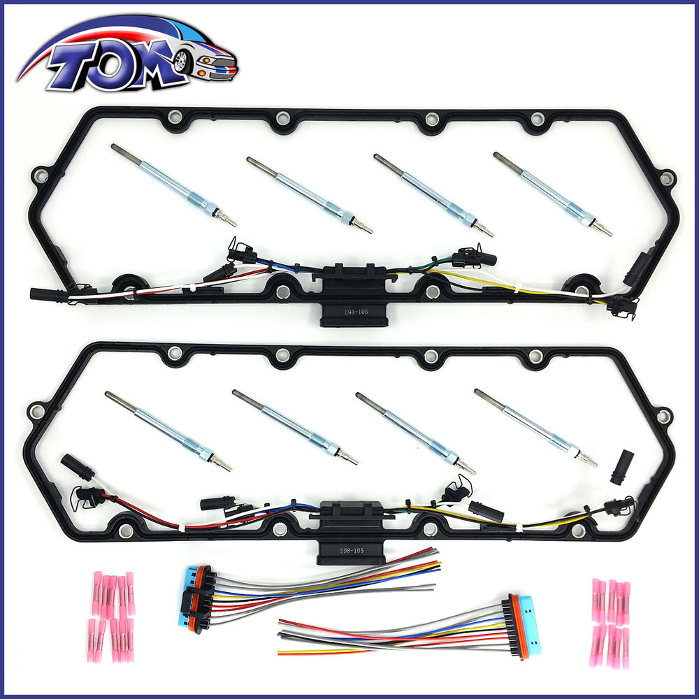 medium resolution of  glow plug wiring diagram 7 3 idi new cover gaskets harness glow plugs kit