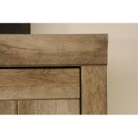 Sauder Adept 2 Door Storage Cabinet Oak Cabinets in ...