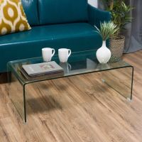 Contemporary Glass Rectangle Coffee Table | eBay
