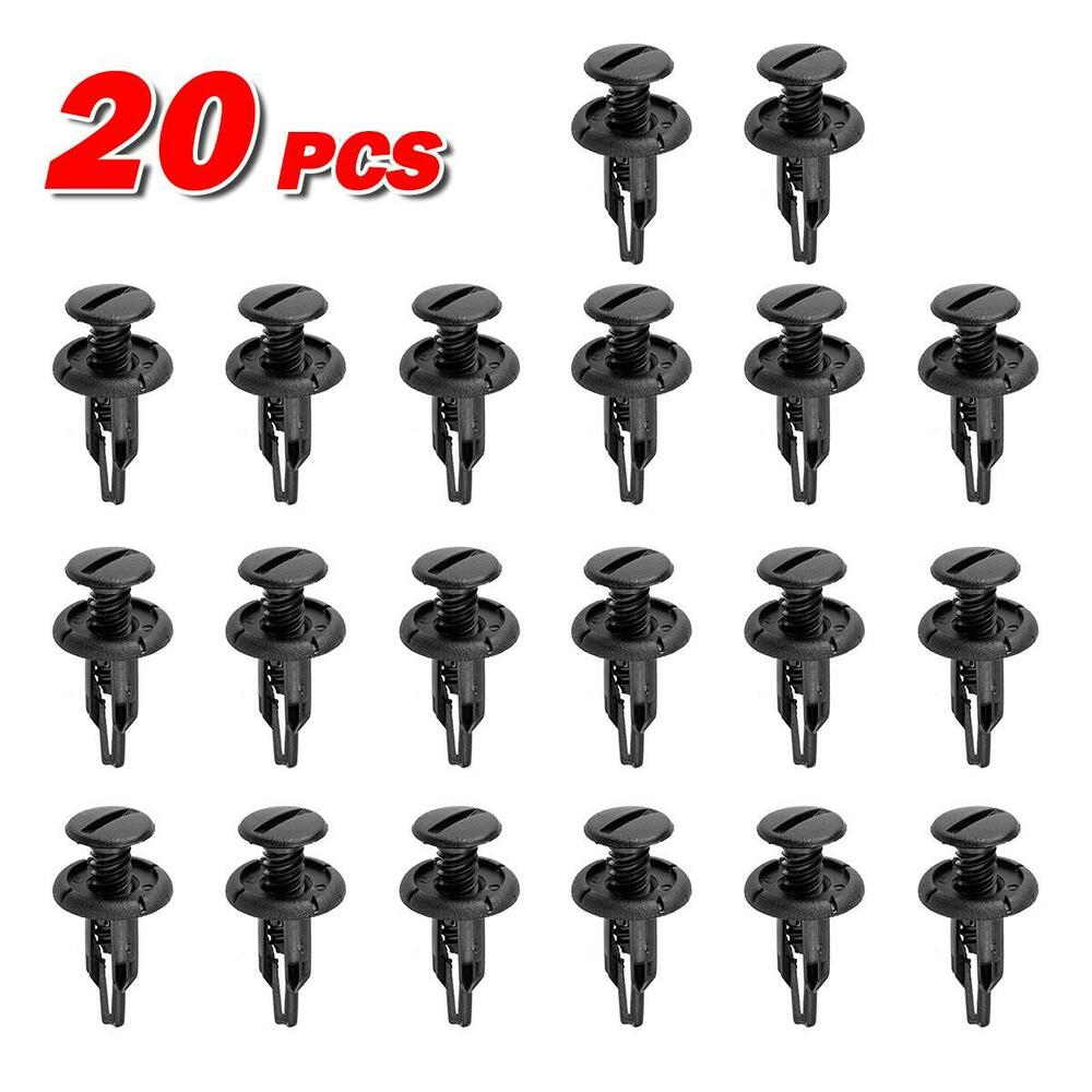 20x Rear Tray Trunk Side Lining Garnish Clip Retainer