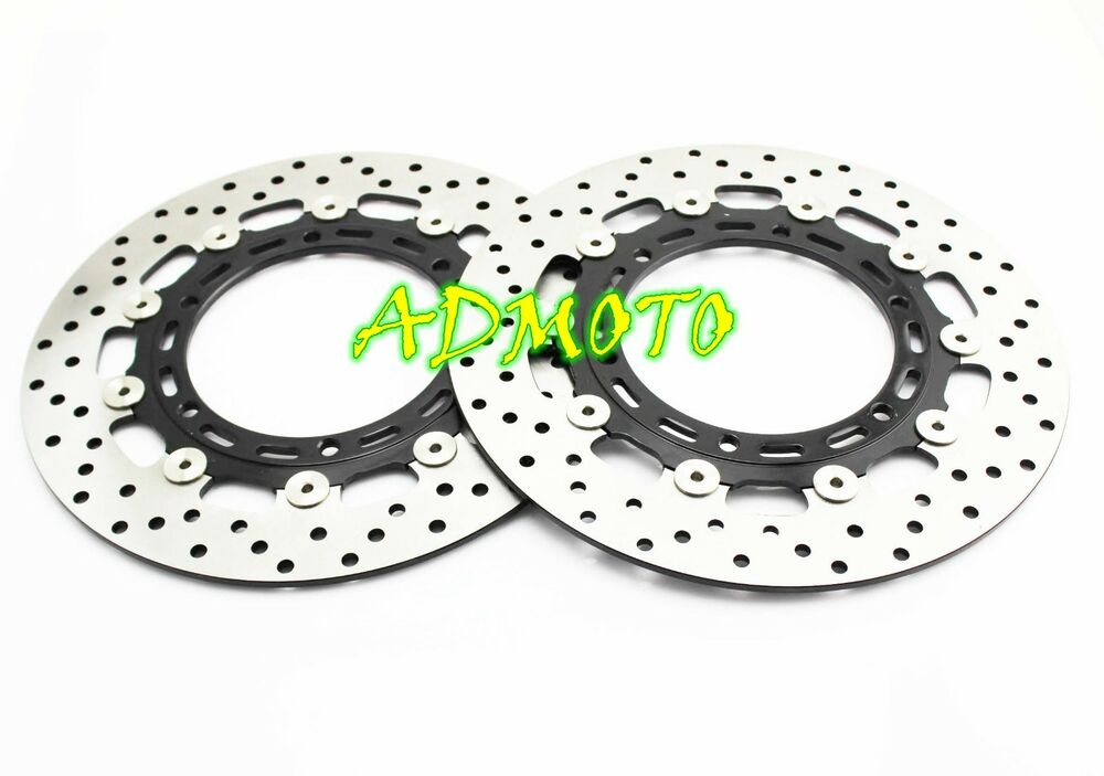 Front Brake Rotors For YAMAHA YZF-R1 98-03 YZF600 97-02