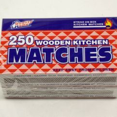 Kitchen Matches Counter Island Wooden 500 Strike On Box Quality Home Camping Campfire Hiking 88168150102 Ebay