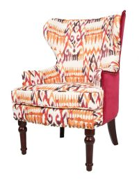 Orthopaedic High Back Chair Winged Armchair Fireside Queen ...