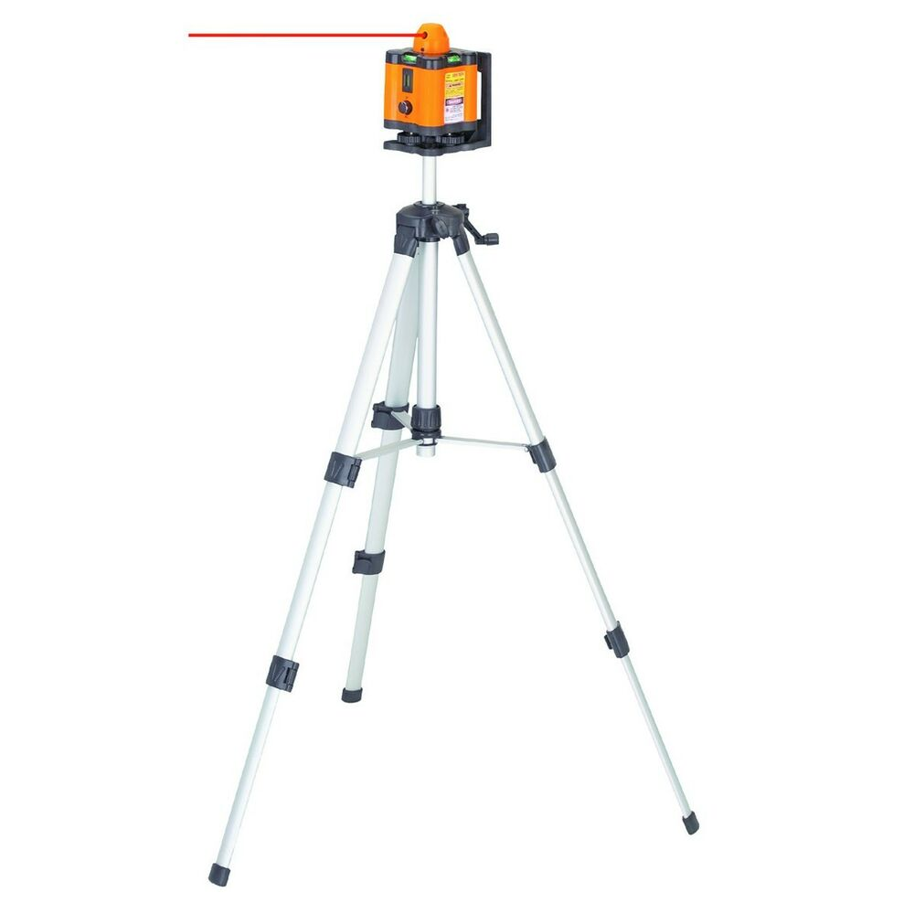 Motorized Rotary Laser Level Kit w/ Tripod & Goggles 360