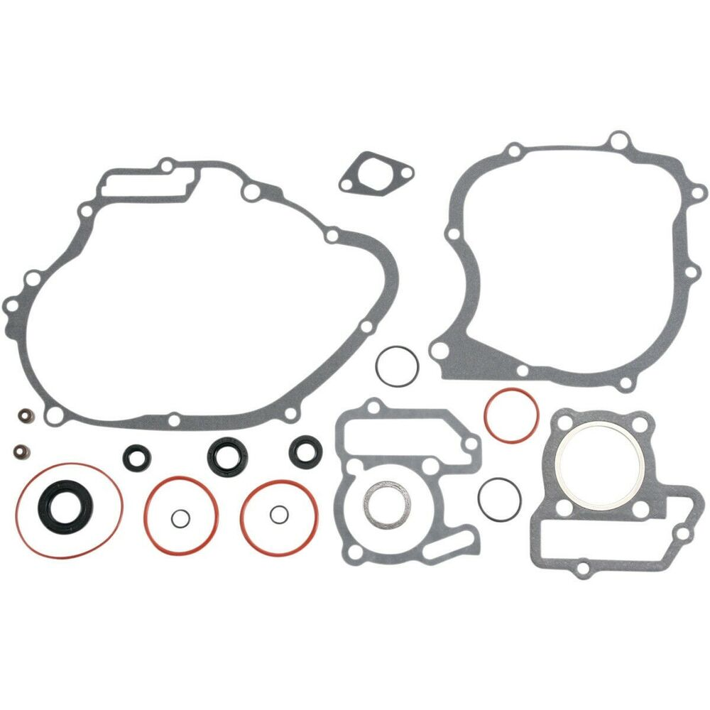 Moose Racing MX 0934-0873 Complete Gasket Set With Oil