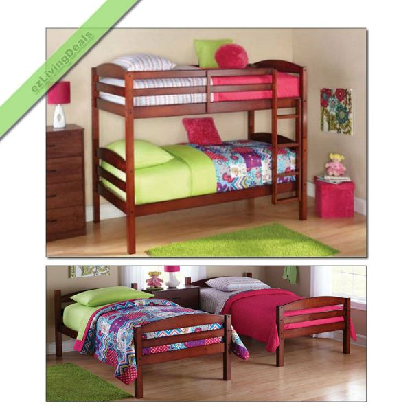 Boy Girl Twin Bunk Beds