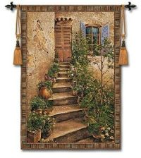 Tuscan Villa II Medium Home Decor Wall Art Tapestry | eBay