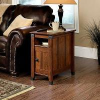 Side Table Drawer Living Room Furniture Wood Shelf Storage ...